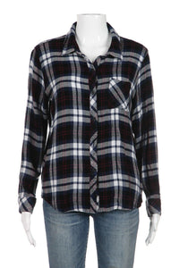 RAILS Plaid Button Down Shirt Size L