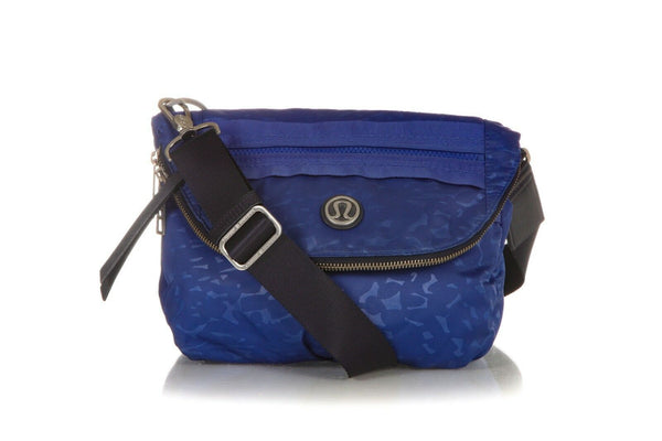 LULULEMON Blue Crossbody Festival Travel Bag