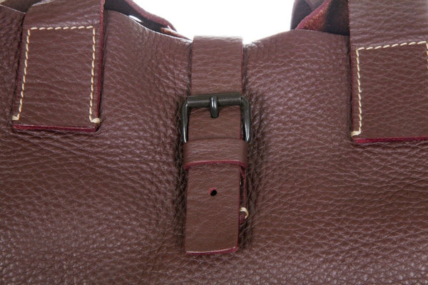 MIU MIU Large Leather Tote Bag