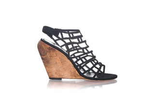 JEAN-MICHEL CAZABAT Wedge Sandals Size 39 (9)