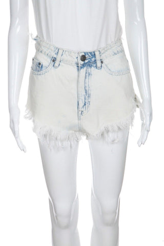 BDG Acid Frayed Denim Shorts Dolphin Size 27