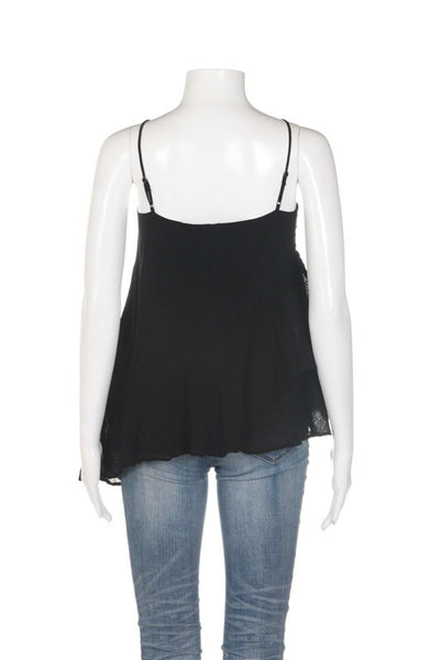 YOUNG FABULOUS & BROKE Ruffled Cami Top Size L
