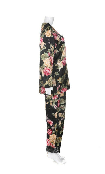 NATORI Vintage 2 Piece Pajama Set - side view