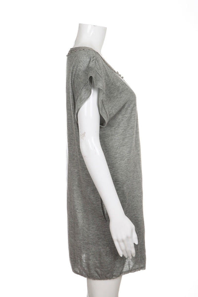 3.1 PHILLIP LIM Jersey Shirt Dress Size S