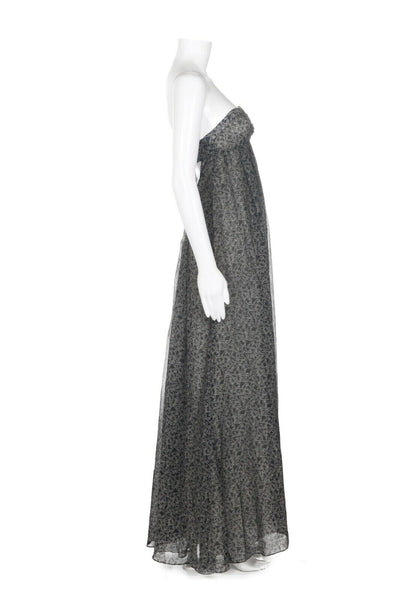 RAG & BONE Strapless Printed Gown Size 0