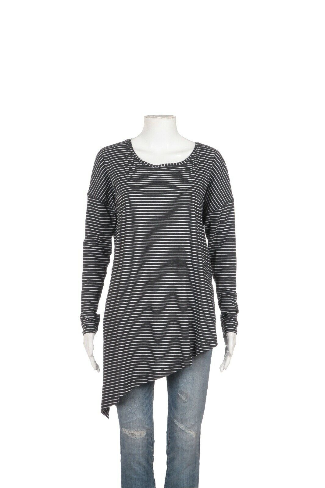 LULULEMON To The Point Striped Long Sleeve Tee Size 8 (New)