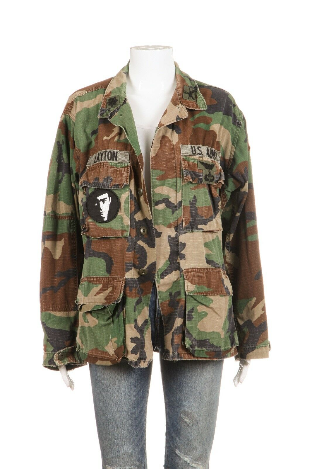 Unbranded Military Camo Jacket Size L