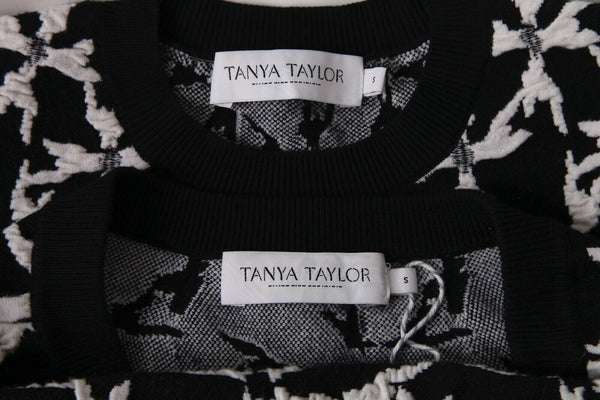 TANYA TAYLOR Knit Skirt Top Set Size S