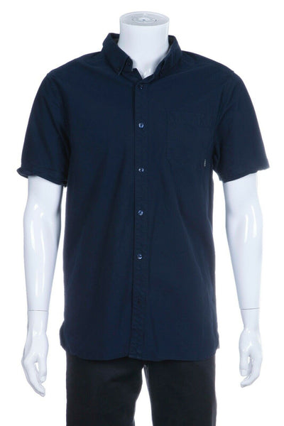 NIXON Men's Endo Short Sleeve Shirt Size L