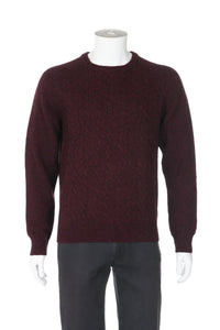 J.CREW Men's Cable Knit 100% Wool Sweater Size M