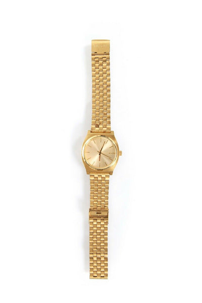 The Minimal Time Teller Gold Tone Watch