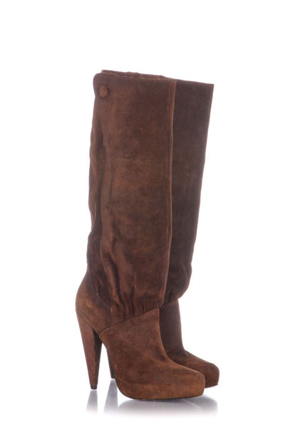 ELIZABETH AND JAMES Knee High Platform Boots Size 7.5