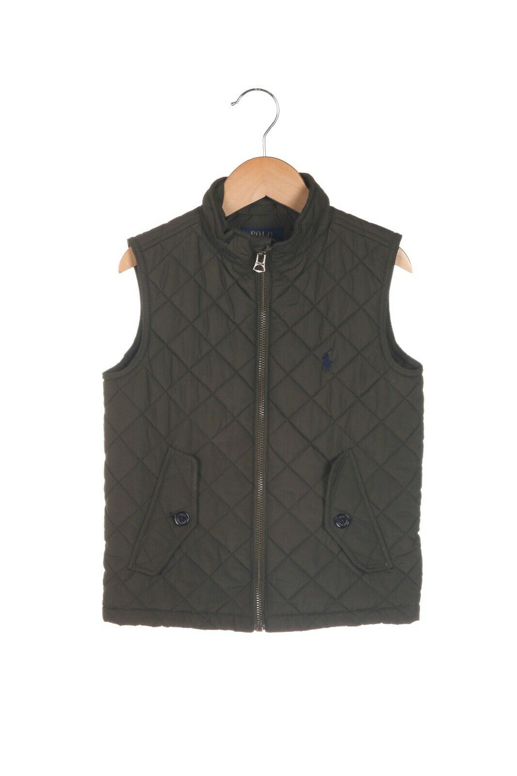 POLO Ralph Lauren Quilted Zip Up Vest Size 3 / 3T