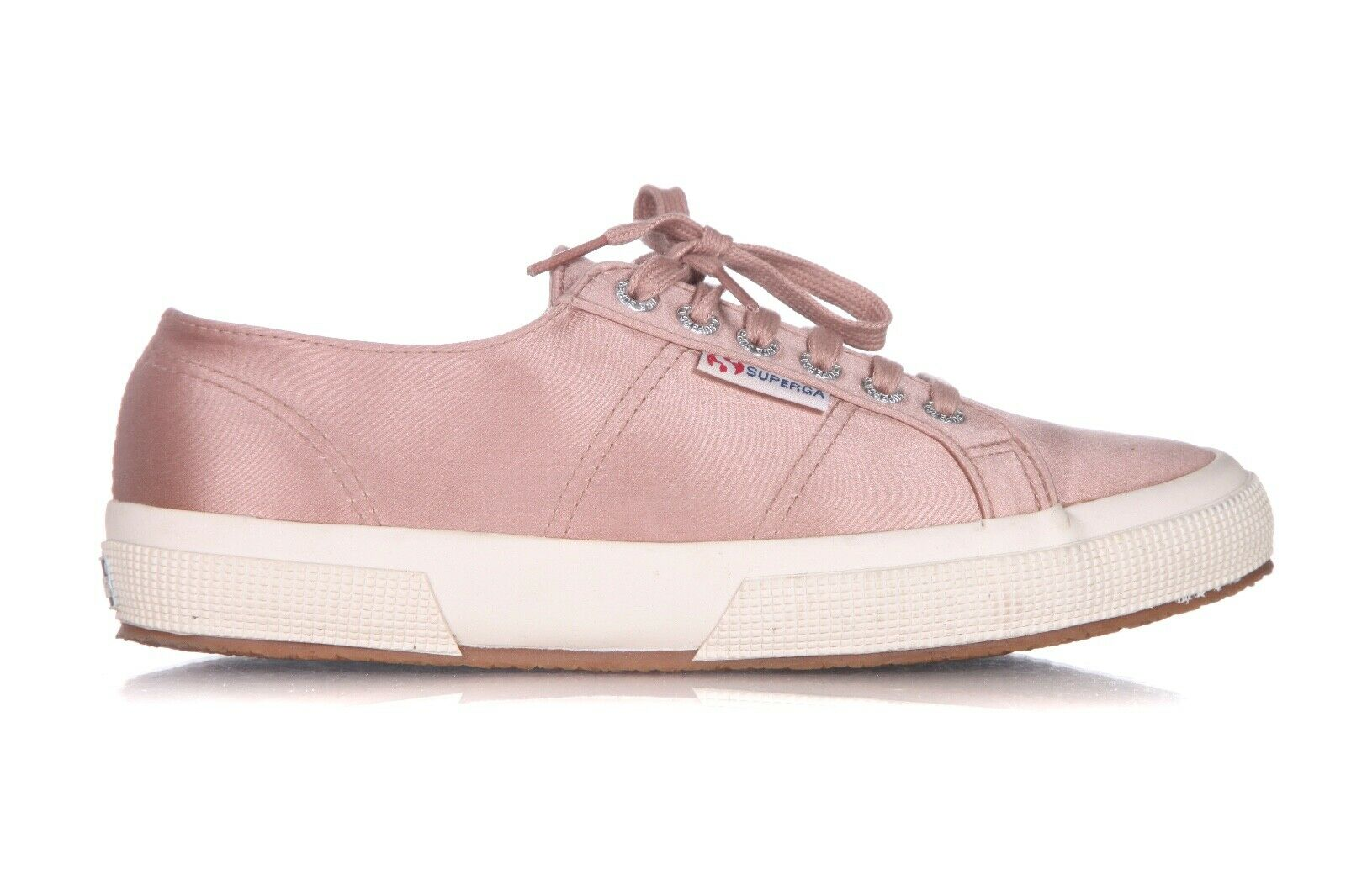 SUPERGA Low Satin Sneakers Size 8.5 (39.5)