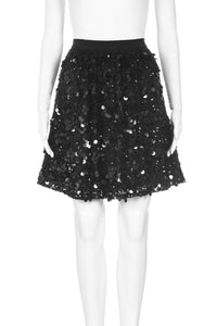 ALICE + OLIVIA Sequin Embellished Flared Skirt Size 8
