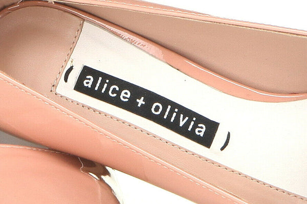 ALICE + OLIVIA Dina Pointed Patent Pumps Size 7.5
