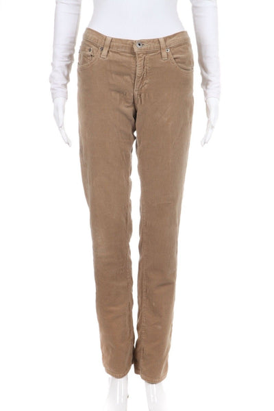 AG ADRIANO GOLDSCHMIED The Stevie Corduroy Pants Size 30