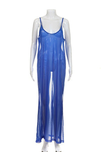 CESARETTI Sheer Mesh Slip Dress Size M