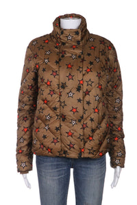 SCOTCH & SODA Puffer Jacket Star Print Size S (New)