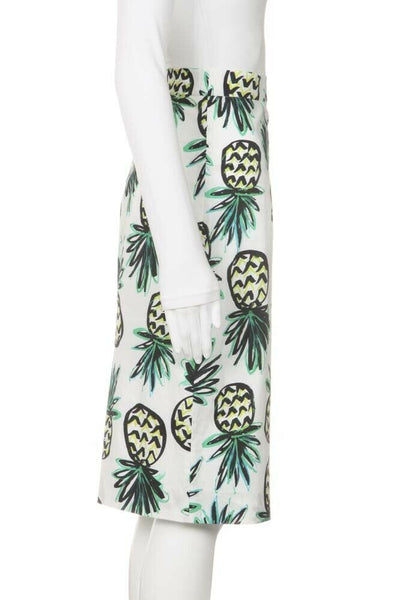 MILLY Pineapple Pencil Skirt Size 2
