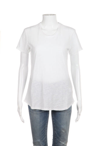 STANDARD JAMES PERSE White Crewneck Tee Size 3 Large (New)