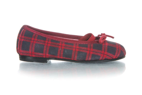JACADI Mary Jane Plaid Flats Dress Shoes Size 24 (7.5)
