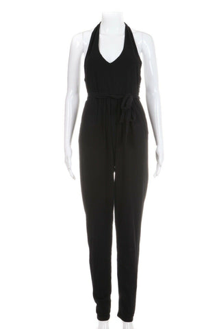 FREE PEOPLE Full Length Halter Jumpsuit Size XS