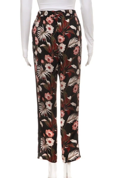 MAISON SCOTCH Miami Deco Floral Jogger Pants Size S