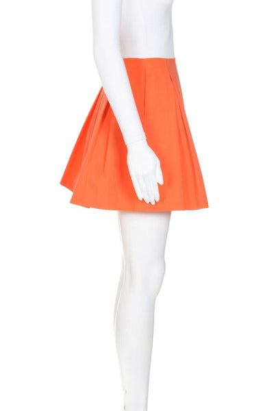 Alive + Olivia Mini Pleated Skirt - side view