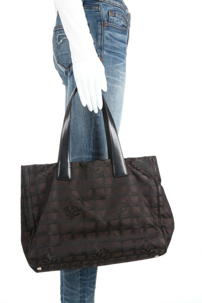 CHANEL Travel Line MM Tote Bag
