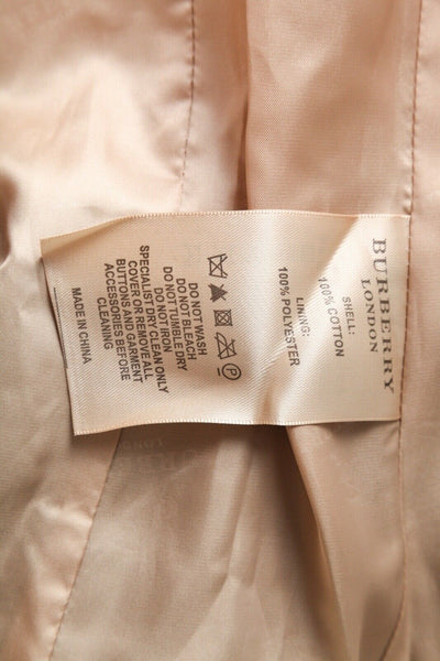 BURBERRY LONDON Trench Coat Size 42 (S)