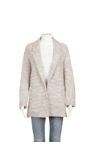 TOPSHOP Knit Sweater Blazer Size 10