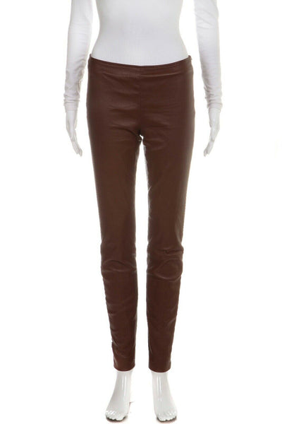 THE ROW Leather Skinny Lambskin Legging Pants Size 4