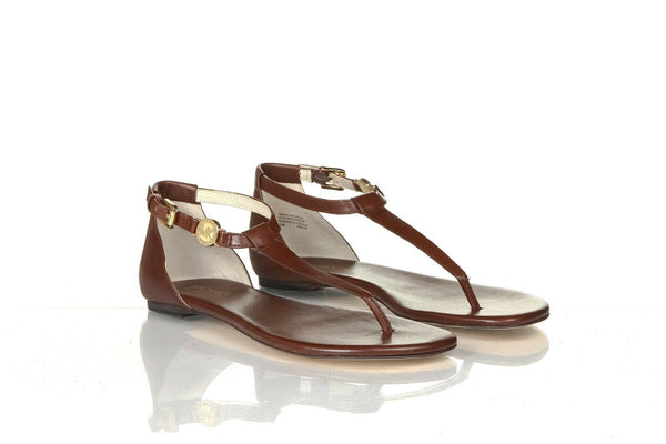MICHAEL KORS Plate Thong Sandals Size 6.5 (New)
