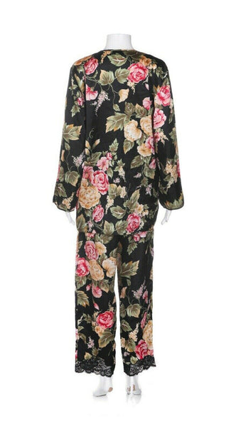 NATORI Vintage 2 Piece Pajama Set - back view