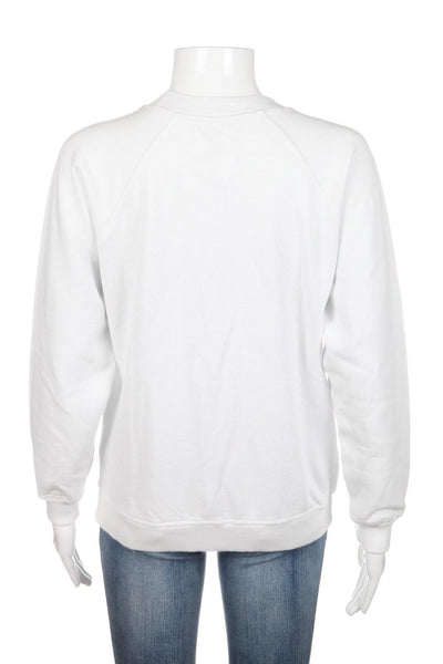 GANNI Isoli White Sweatshirt Cherry Bomb Size XS (New)