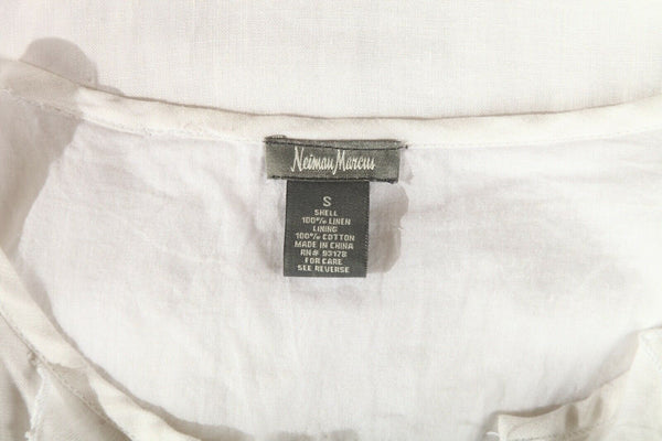 NEIMAN MARCUS Linen Dress Size S