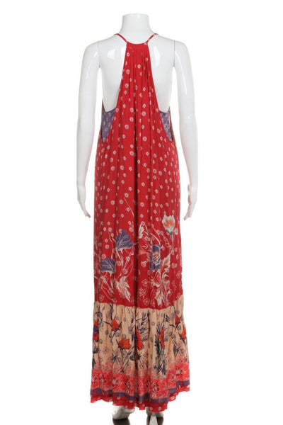 MAEVE Bohemian Maxi Dress Printed Size S