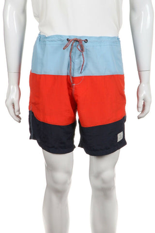 DEUS EX MACHINA Striped Swim Trunks Size XXL (New)