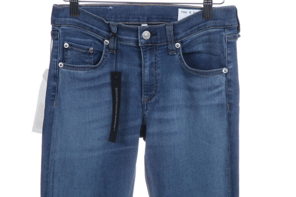 RAG & BONE Boot Cut Jeans Elma Blue Size 27 (New)