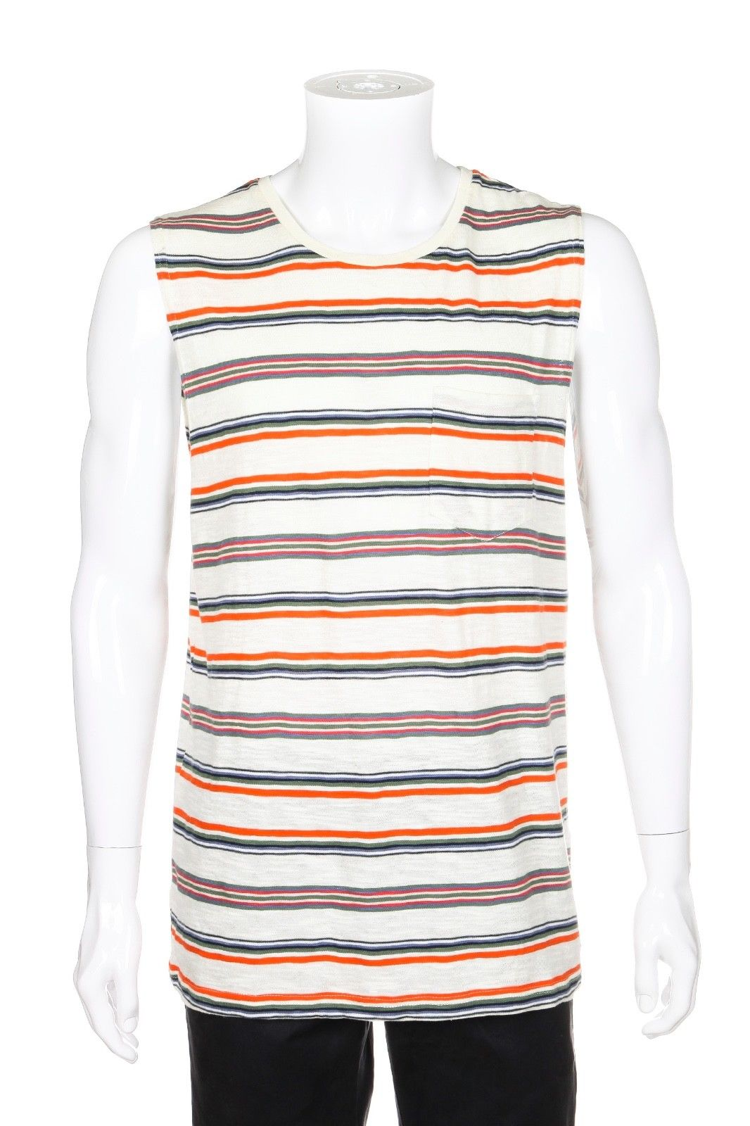DEUS EX MACHINA Striped Tank Top Size L (New)