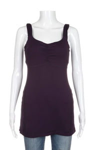 LULULEMON Aria Tank II Deep Zinfandel Purple Top Size 6