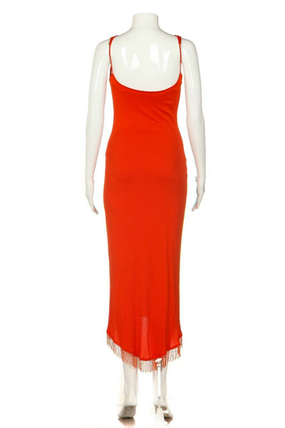 DINA BAR-EL Midi Dress Size S