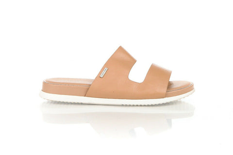 CALVIN KLEIN Diane Leather Slides Size 10
