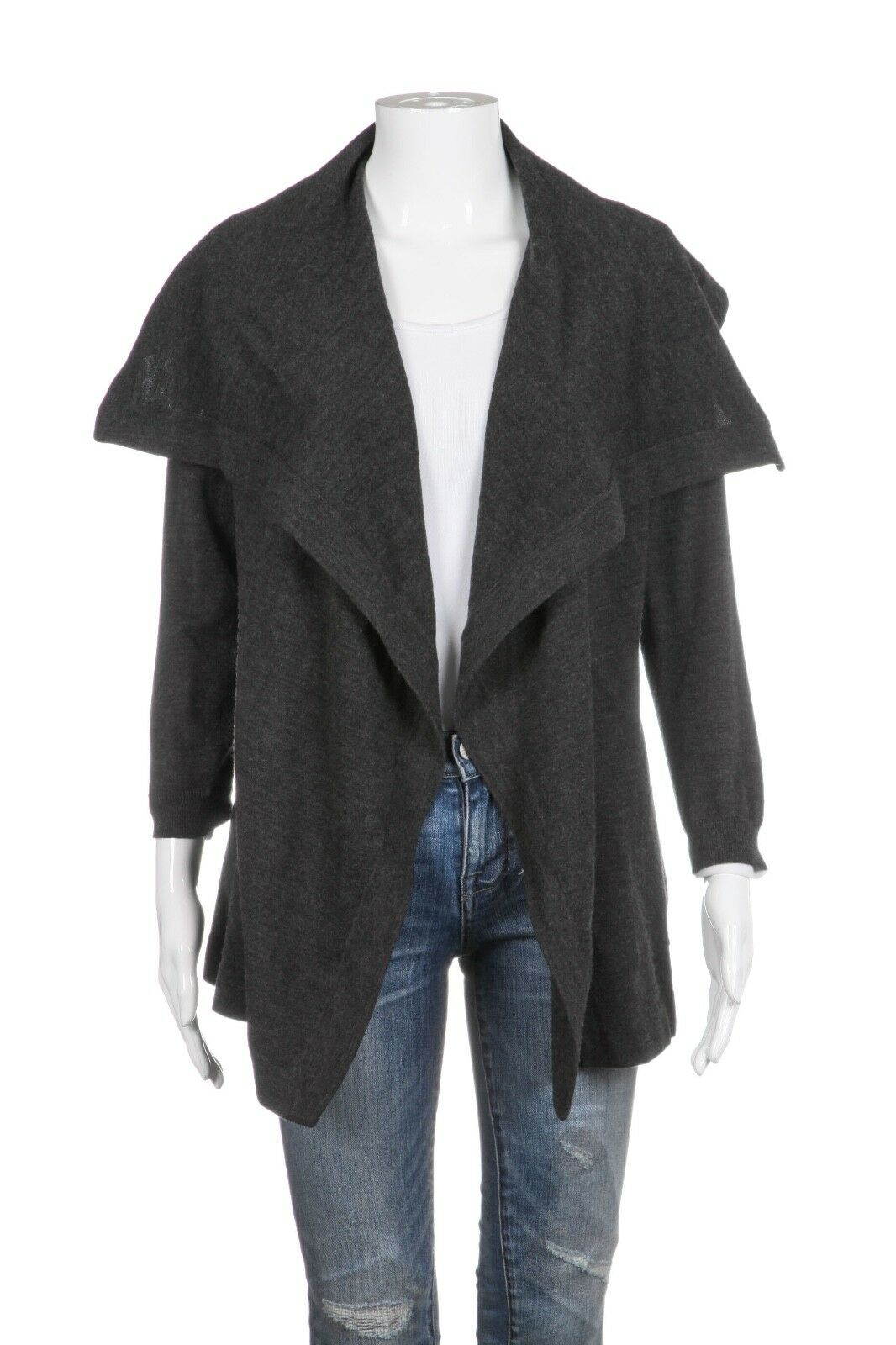 THEORY Wool Blend Cardigan Jacket Size S