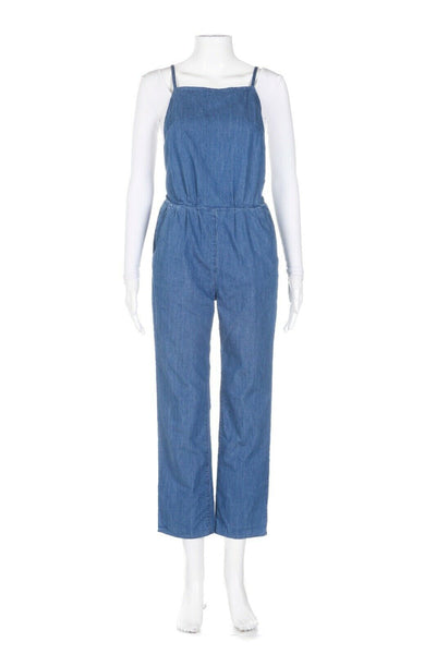 3x1 NEW YORK Sleeveless Jumpsuit Size XS