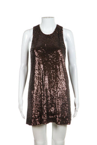 TORY BURCH Sequin Embellished Mini Dress Size S