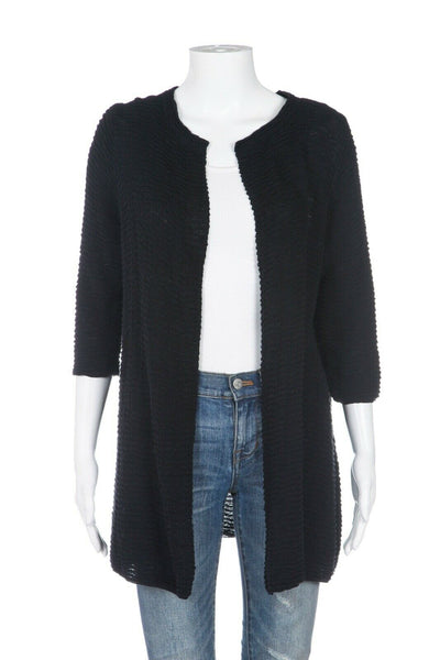 EILEEN FISHER Long Knit Cardigan Size PL