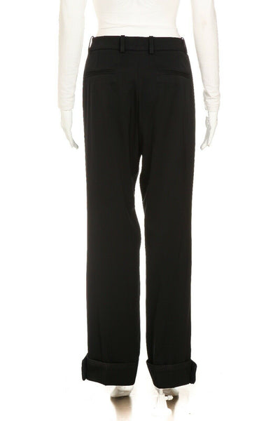 YVES SAINT LAURENT RIVE GAUCHE Cuffed Dress Pants Size 34''
