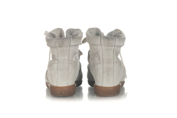 ISABEL MARANT Wedge Suede Sneakers Size 8